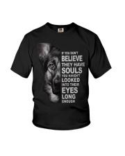 German Shepherd Believe Youth T-Shirt thumbnail