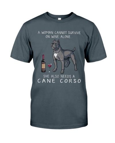 Woman Need Cane Corso
