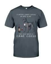 Woman Need Cane Corso Classic T-Shirt front