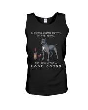 Woman Need Cane Corso Unisex Tank thumbnail