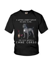 Woman Need Cane Corso Youth T-Shirt thumbnail