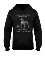 Woman Need Cane Corso Hooded Sweatshirt thumbnail