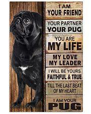 Pug Partner 11x17 Poster front