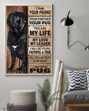 Pug Partner 11x17 Poster lifestyle-poster-1