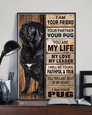 Pug Partner 11x17 Poster lifestyle-poster-2