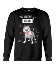 Pitbull Anatomy Crewneck Sweatshirt thumbnail