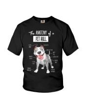 Pitbull Anatomy Youth T-Shirt thumbnail