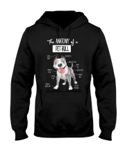 Pitbull Anatomy Hooded Sweatshirt thumbnail