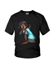 Dachshund Mom Youth T-Shirt thumbnail