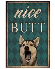 Husky Nice Butt 11x17 Poster front
