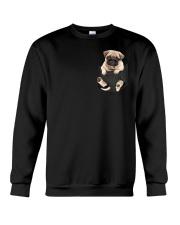 Pug In Pocket Crewneck Sweatshirt thumbnail