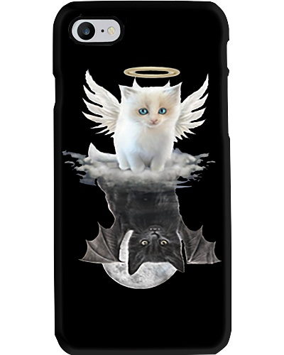 Cat ANGEL And  DEVIL