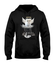 Cat ANGEL And  DEVIL Hooded Sweatshirt tile
