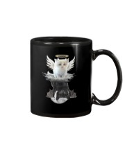 Cat ANGEL And  DEVIL Mug tile