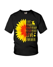 I Just Really Love Chihuahua Youth T-Shirt tile
