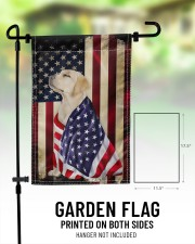 """Labrador American 11.5""""x17.5"""" Garden Flag aos-garden-flag-11-5-x-17-5-lifestyle-front-01"""