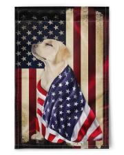 """Labrador American 11.5""""x17.5"""" Garden Flag front"""