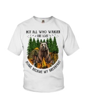 Bear Not all wander Youth T-Shirt tile