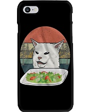Cat At Dinner Phone Case thumbnail