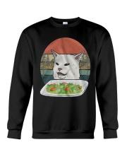 Cat At Dinner Crewneck Sweatshirt thumbnail