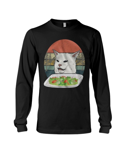 Cat At Dinner