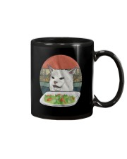 Cat At Dinner Mug thumbnail