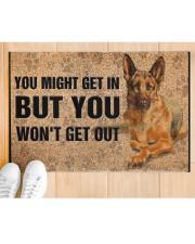 """German Shepherd you might get in Doormat 22.5"""" x 15""""  aos-doormat-22-5x15-lifestyle-front-03"""