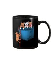 Pitbulls in Pocket  Mug thumbnail