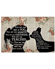 Chihuahua Girl Therapist Best Friend 17x11 Poster front