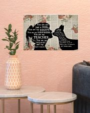 Chihuahua Girl Therapist Best Friend 17x11 Poster poster-landscape-17x11-lifestyle-21