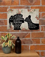 Chihuahua Girl Therapist Best Friend 17x11 Poster poster-landscape-17x11-lifestyle-23