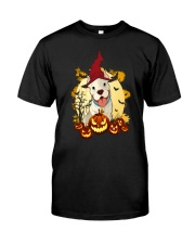 New Halloween Pitbull Classic T-Shirt front