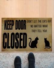 """Cat Keep Door Doormat 22.5"""" x 15""""  aos-doormat-22-5x15-lifestyle-front-10"""