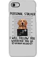 Golden Retriever Stalker Phone Case thumbnail