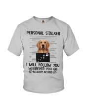 Golden Retriever Stalker Youth T-Shirt thumbnail