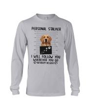 Golden Retriever Stalker Long Sleeve Tee thumbnail