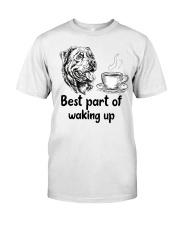 Rottweiler Best Part Classic T-Shirt front