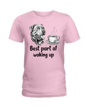 Rottweiler Best Part Ladies T-Shirt thumbnail