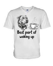 Rottweiler Best Part V-Neck T-Shirt thumbnail