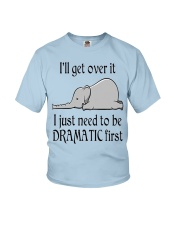 ELEPHANT DRAMATIC Youth T-Shirt thumbnail