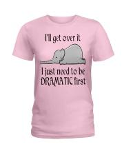 ELEPHANT DRAMATIC Ladies T-Shirt thumbnail