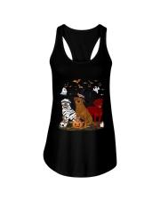 Rottweiler Halloween is Coming Ladies Flowy Tank thumbnail