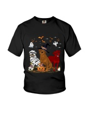 Rottweiler Halloween is Coming Youth T-Shirt thumbnail