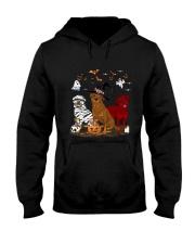 Rottweiler Halloween is Coming Hooded Sweatshirt thumbnail
