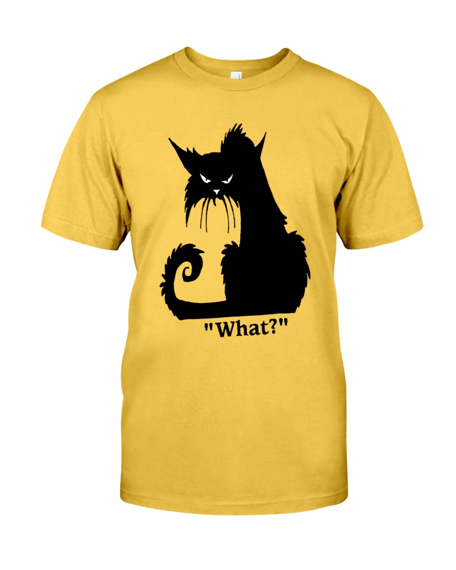 Cat What Classic T-Shirt