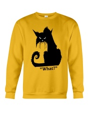 Cat What Crewneck Sweatshirt thumbnail