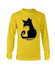 Cat What Long Sleeve Tee thumbnail