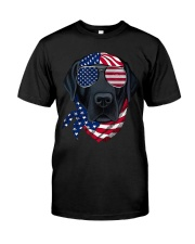 American Vibes Labrador Classic T-Shirt front