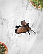 Horse Crack Sticker - Single (Vertical) aos-sticker-single-vertical-lifestyle-front-06