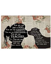 Labrador Girl Therapist Best Friend 17x11 Poster front